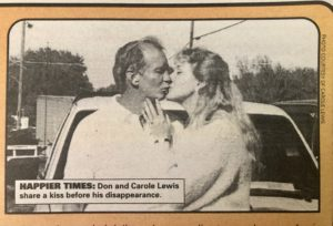 Don & Carole Lewis in better days.